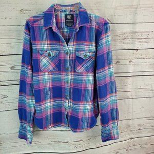 American Eagle plaid Favorite Fit Flannel Medium